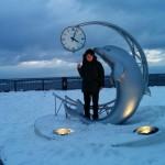 【年越日本最北端旅行】その 2 ノシャップ岬, 稚内副港市場