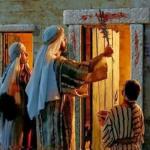 過越祭で屠られた小羊の血